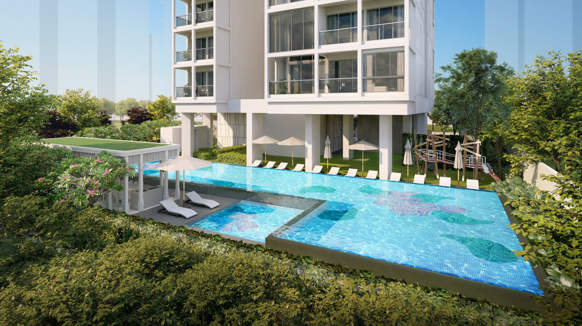 Artist's Impression . Nyon Condominium Pool