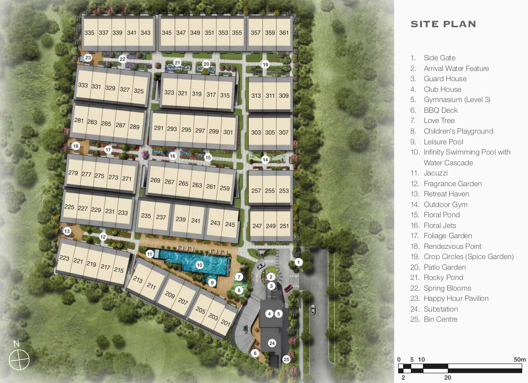 Belgravia Green Site Plan Layout