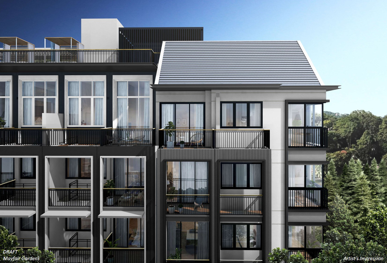 Mayfair Gardens Condo Design . The Mayfair Gardens Showflat