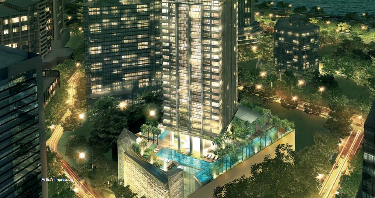 Skysuites at Anson by Allgreen . Developer for Royal Green Singapore