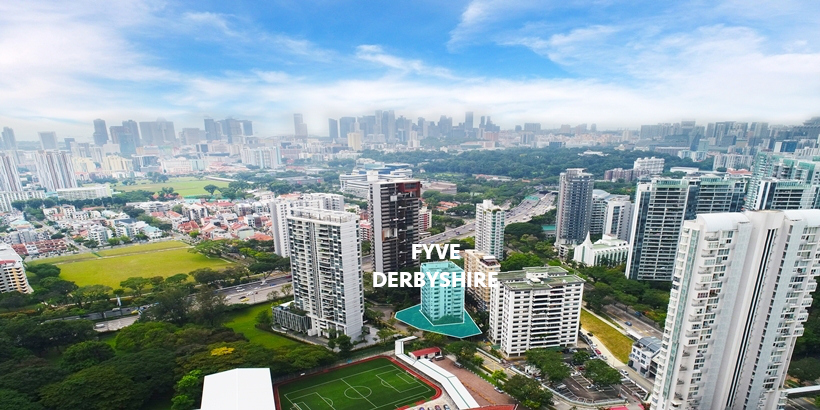 Fyve Derbyshire Condo Site . Location View