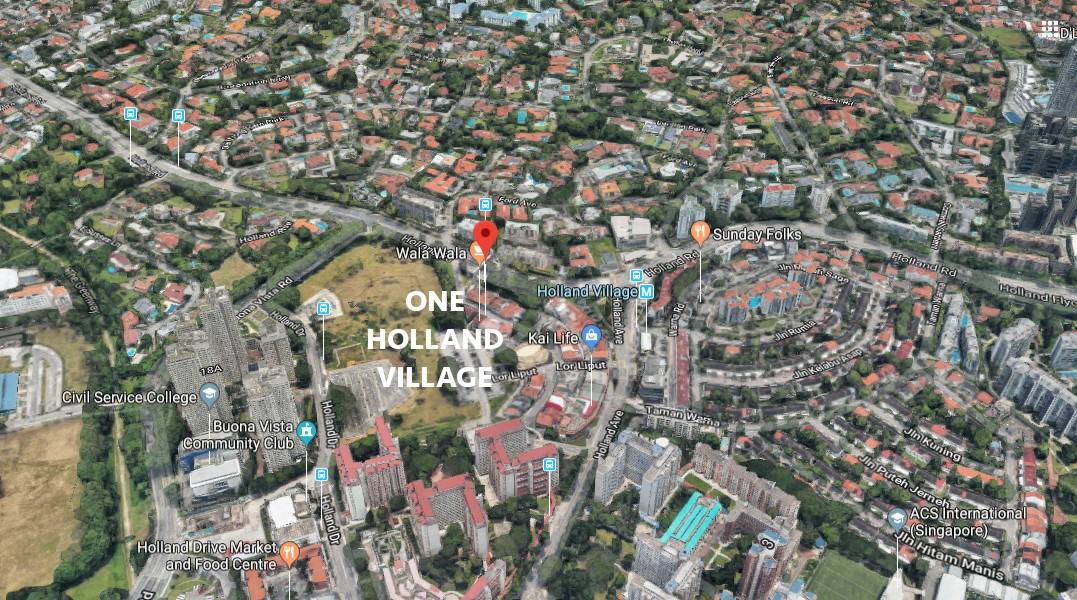 One Holland Village Residences Site . Location View