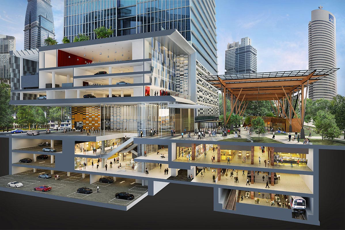 Tanjong Pagar Centre by GuocoLand . Developer for Meyer Mansion Singapore