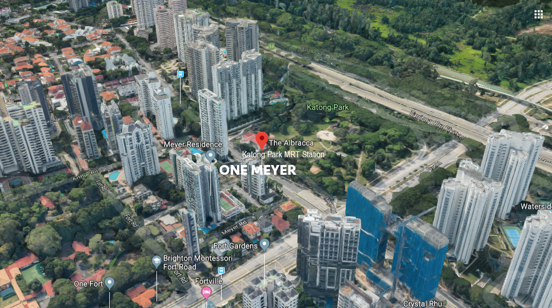 One Meyer Condo Location . Site View