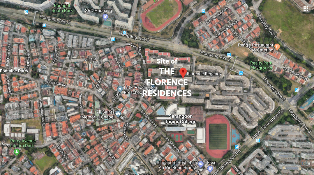 The Florence Residences Location . Site