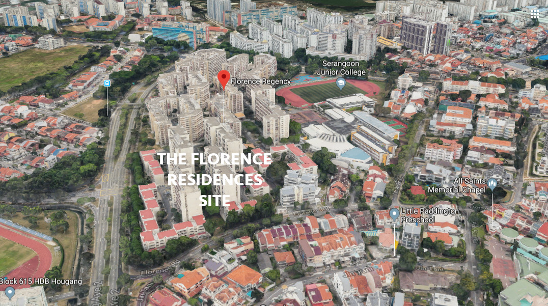 The Florence Residences Singapore . Neighbourhood Views