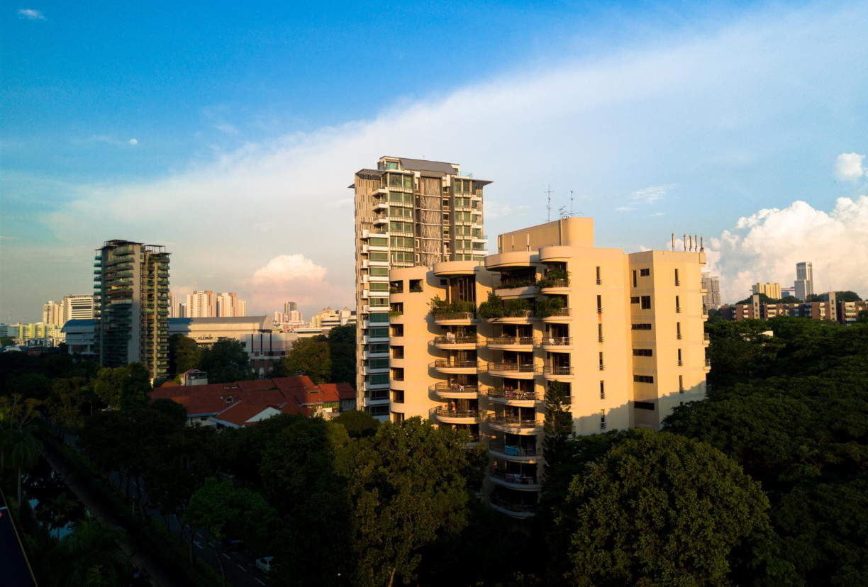 Makeway View . Site of The Atelier Singapore