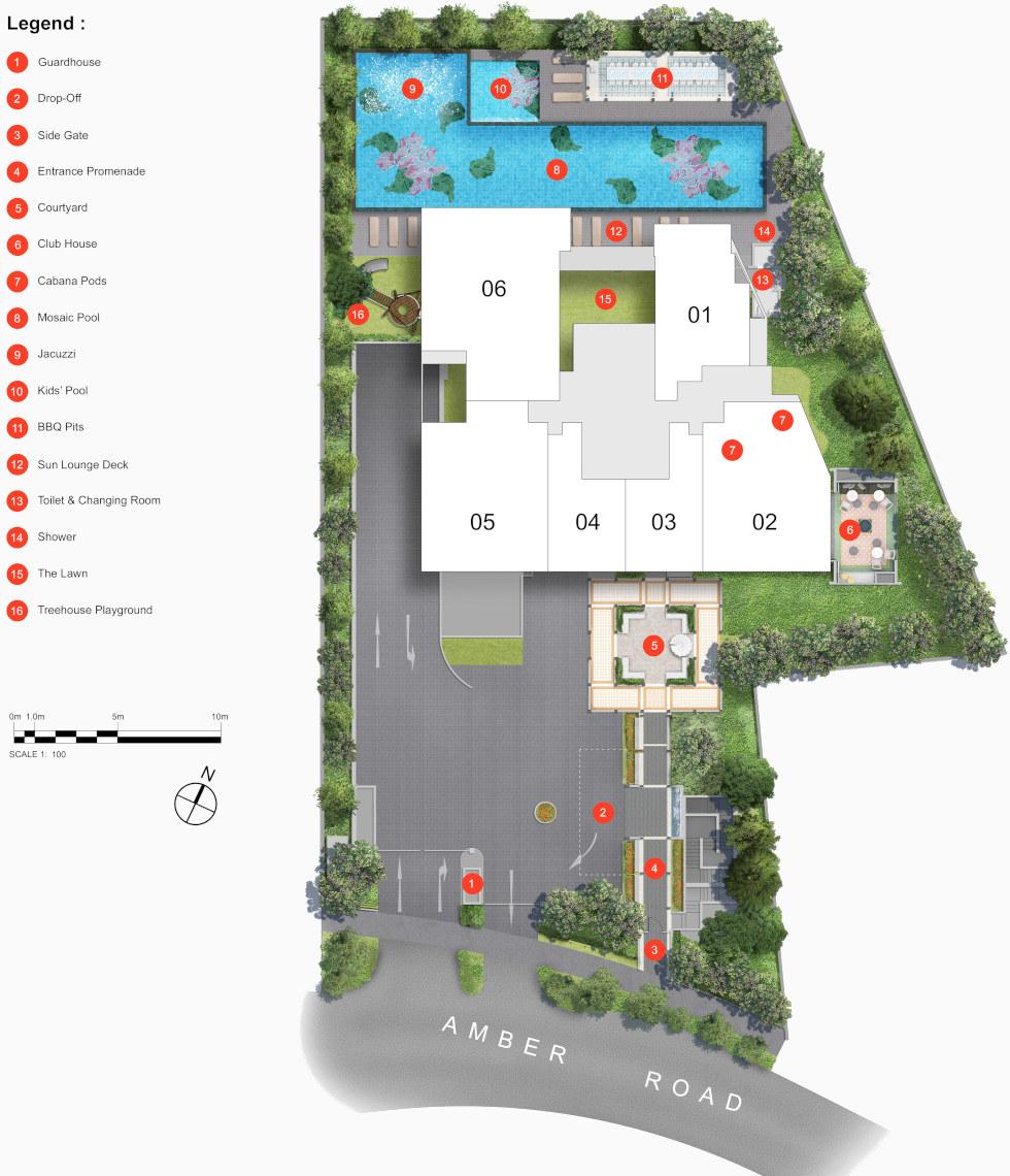 Nyon Condo Site Plan