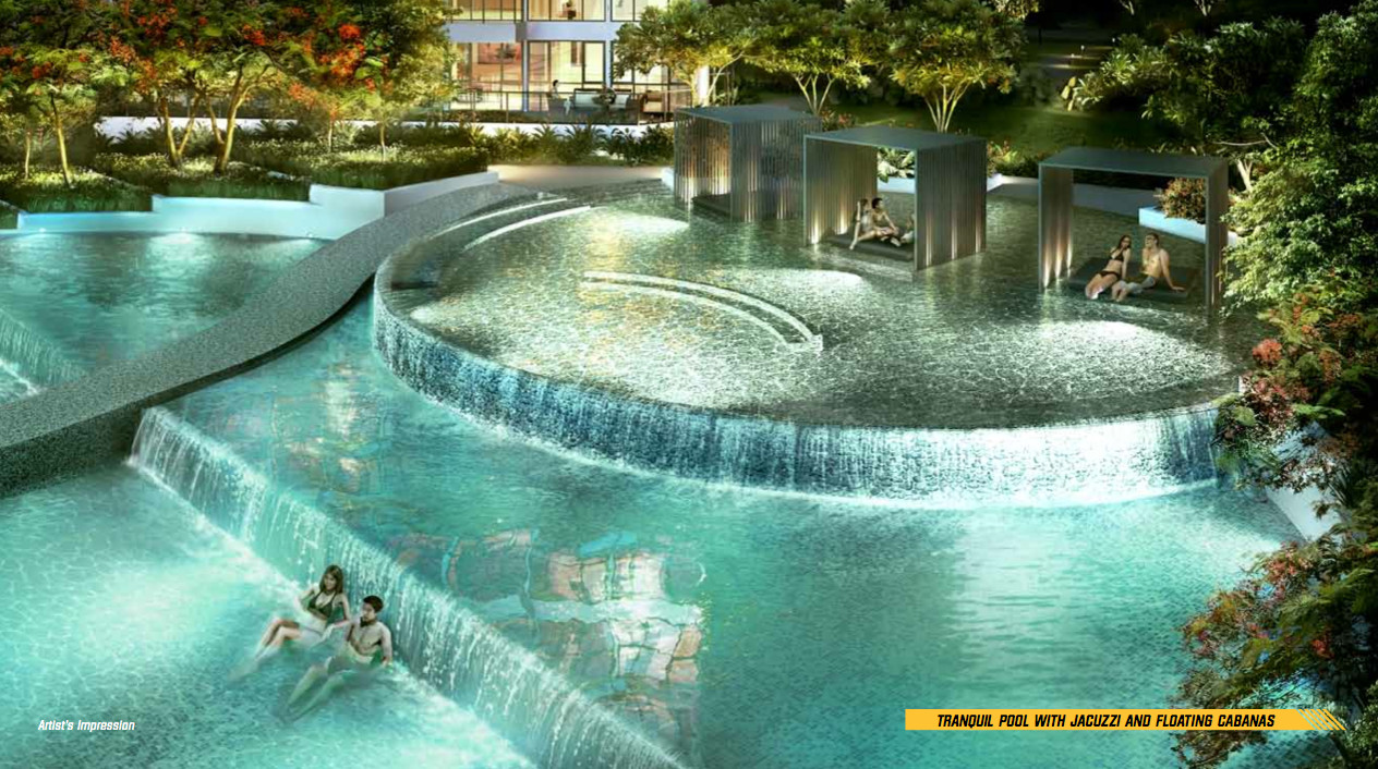 Parc Olympia by Koh Brothers . Developer for Van Holland Singapore