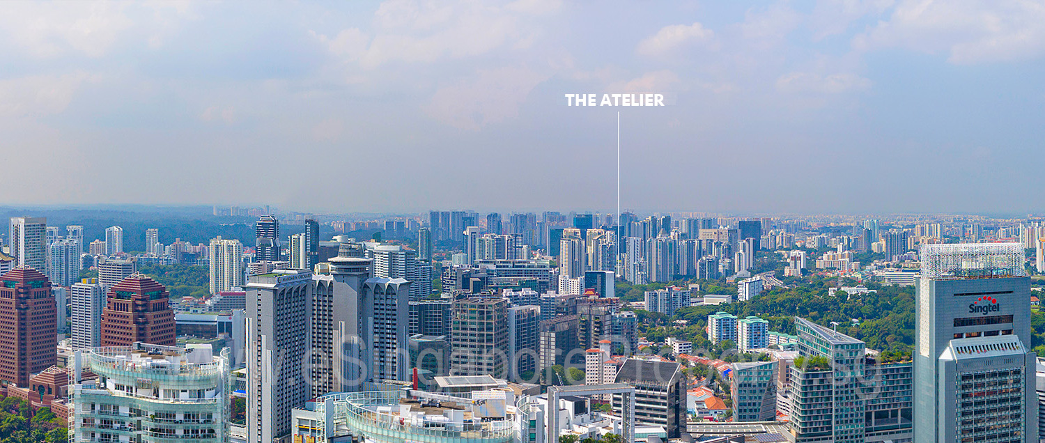 The Atelier Singapore Location View