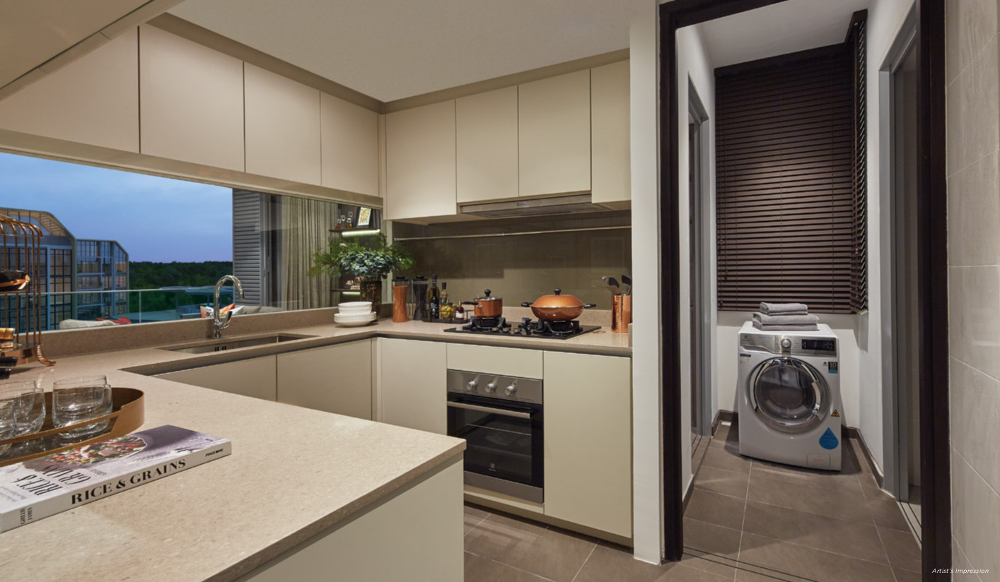 Gazania Condo Showflat Kitchen