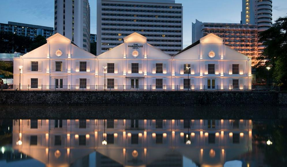 The Warehouse Hotel along Singapore River