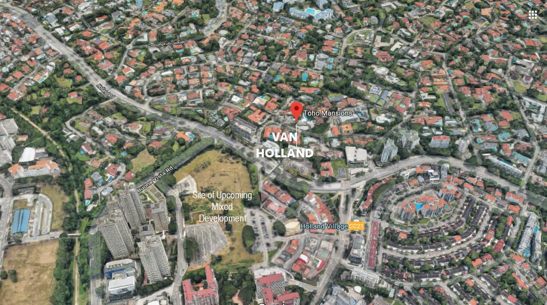 Van Holland Condo Location . Site