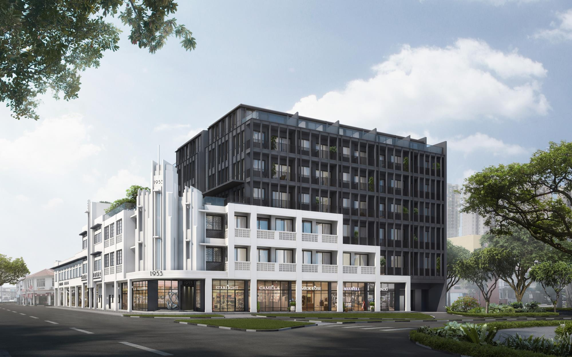 Artist's Impression . 1953 Tessensohn Mixed Development Condo