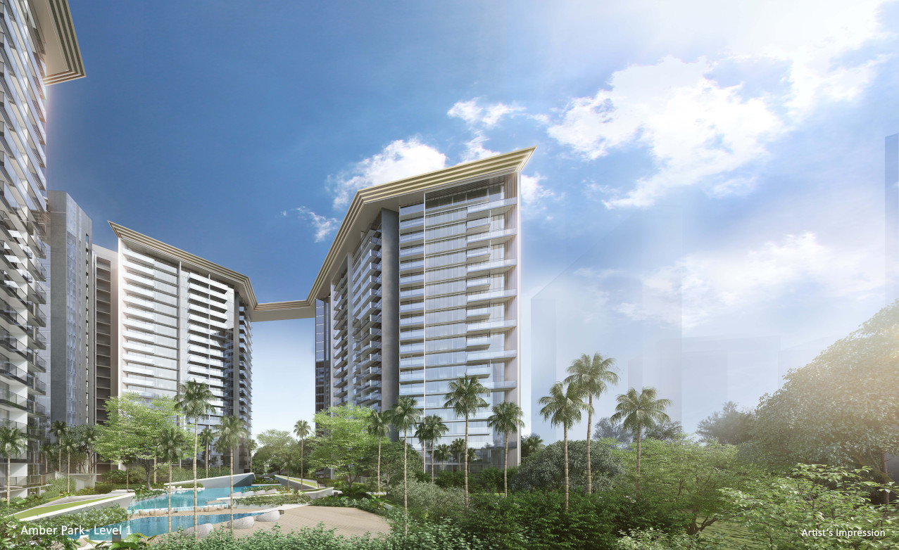 Artist's Impression . The Amber Park Singapore