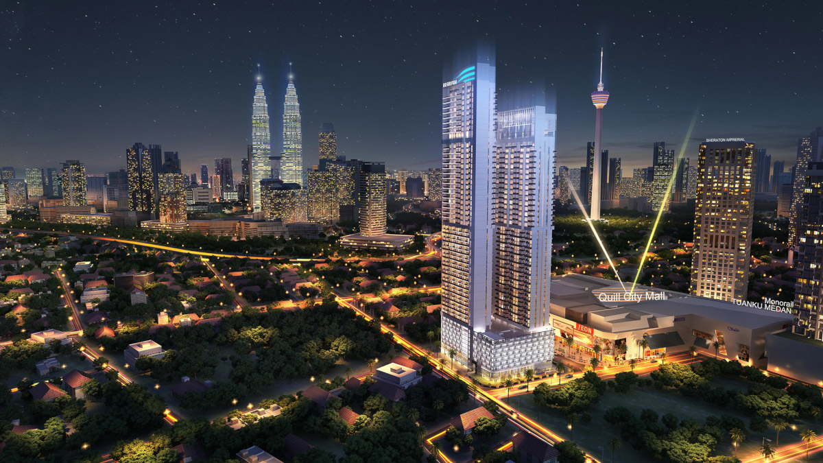 Infinitum in KL by Macly Group . Developer for The Iviera Condo