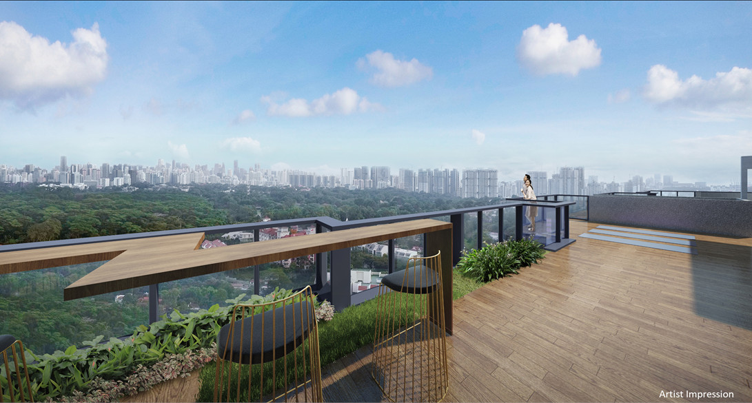 The Wilshire Residence Singapore Viewing Deck