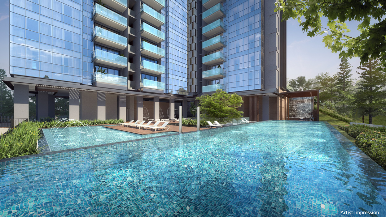 Wilshire Residences Condominium Pool