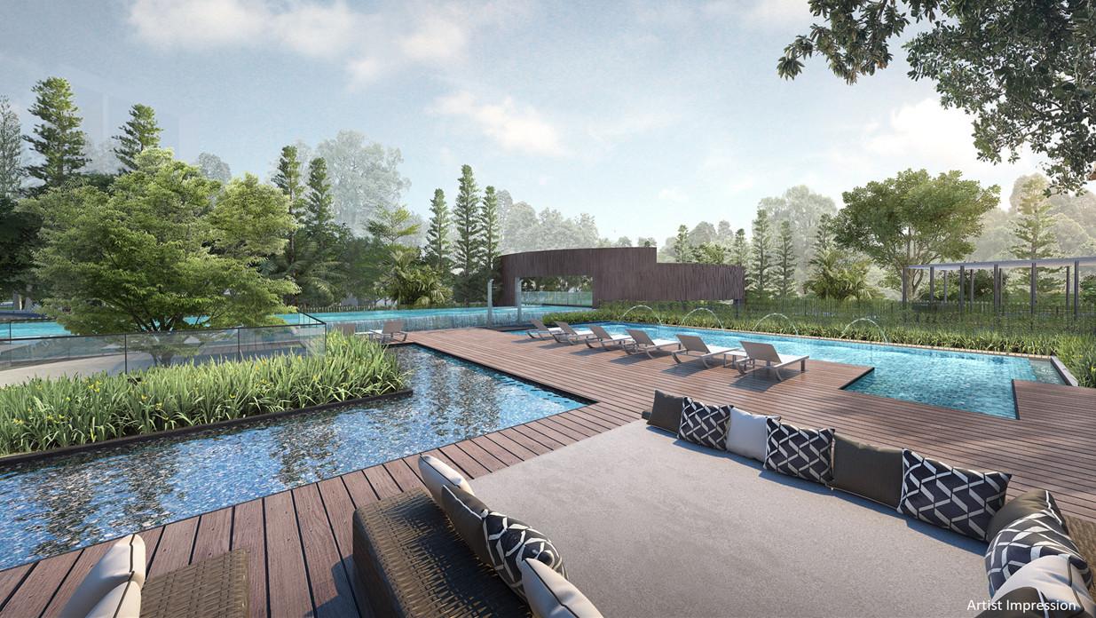 Wilshire Residences Singapore Landscape Deck