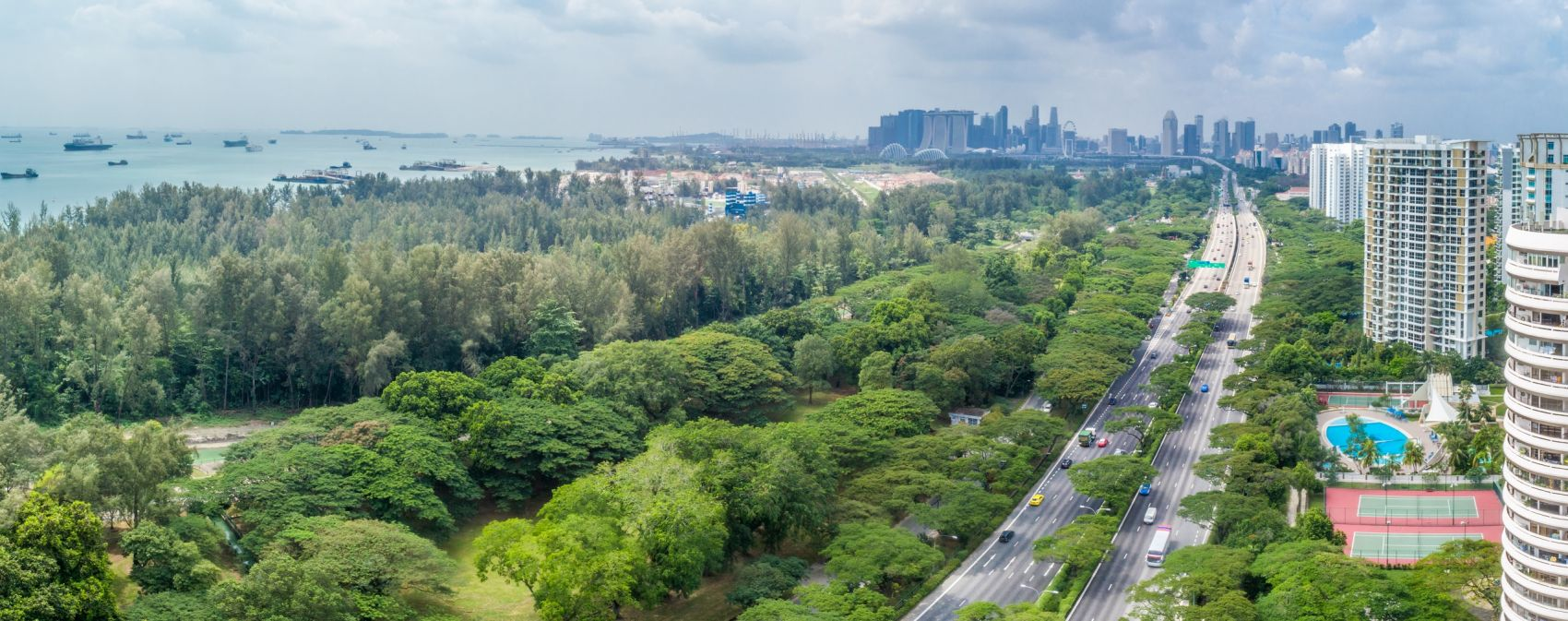 Meyer Mansion Singapore . Sea and City Views