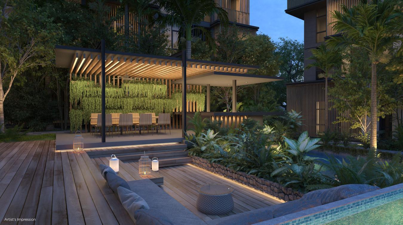 Parc Komo @ Changi . Lounge Deck