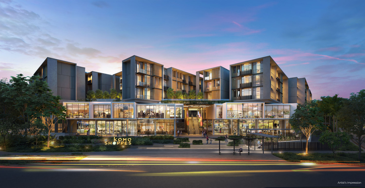 Parc Komo Condo Shoppes . A Lifestyle Hub At Your Doorstep