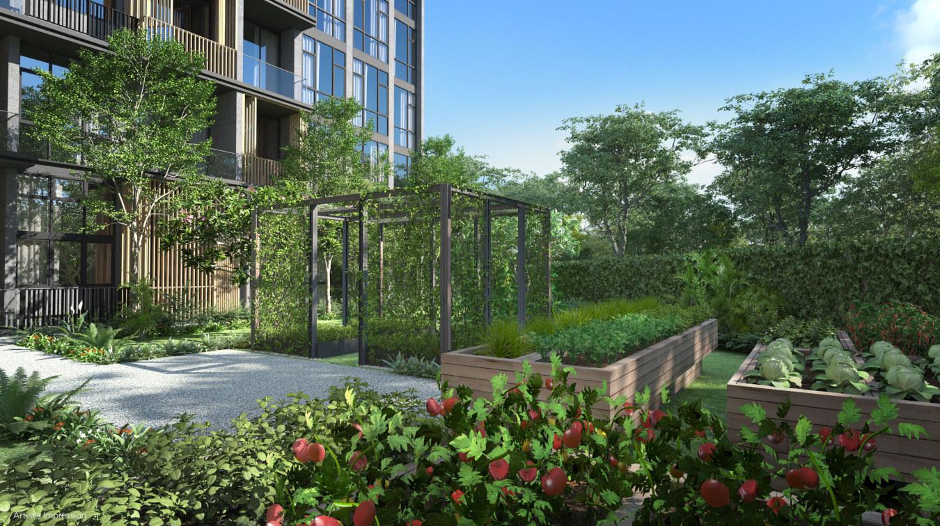 Park Komo Condo . Urban Farming