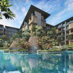 Parc Komo Condominium . Groto Pool