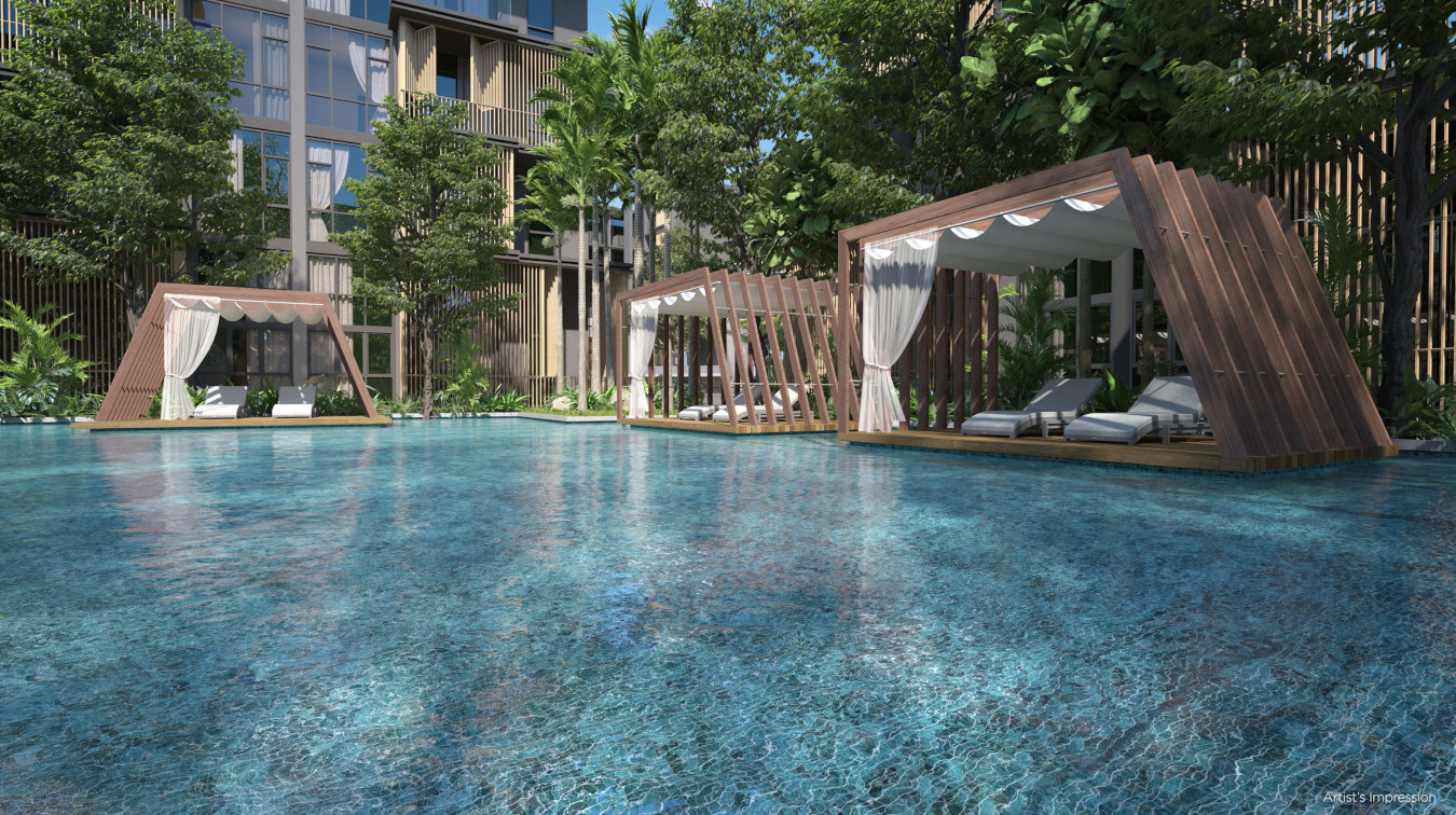 Facilities & Landscaping . Pool Pavilions
