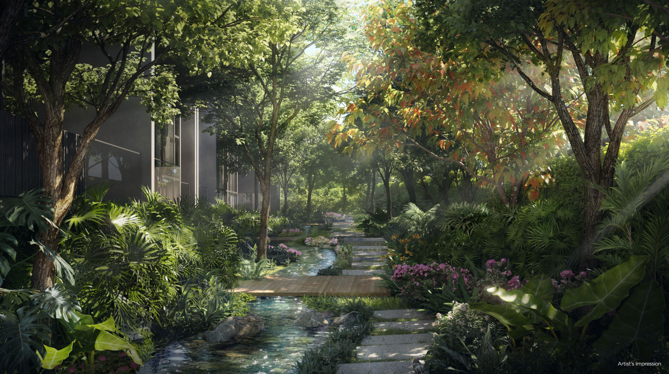 Park Komo by CEL . Garden Stream