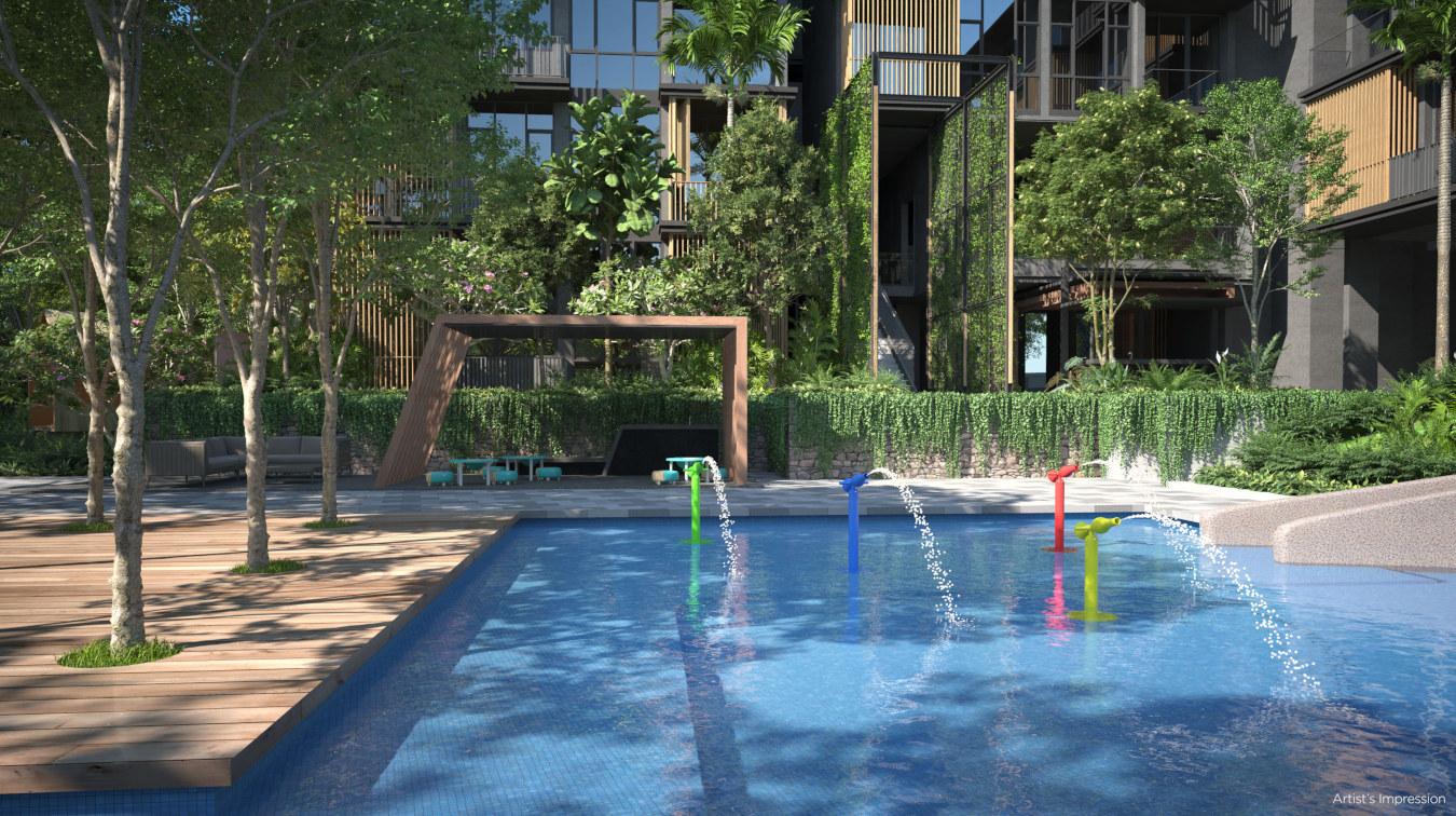 Park Komo Site Facilities . Kids' Pool