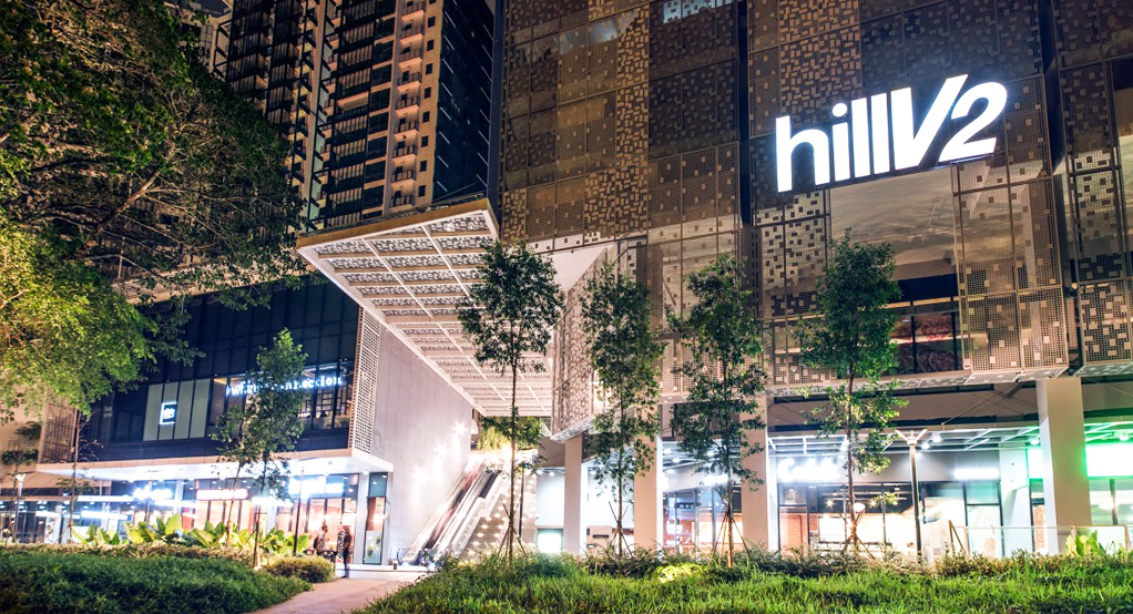 HillV2 Mall next to The Midwood Residence