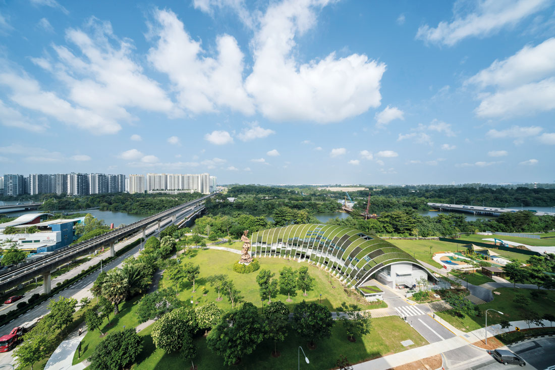 The Sengkang Riverside Park Nearby
