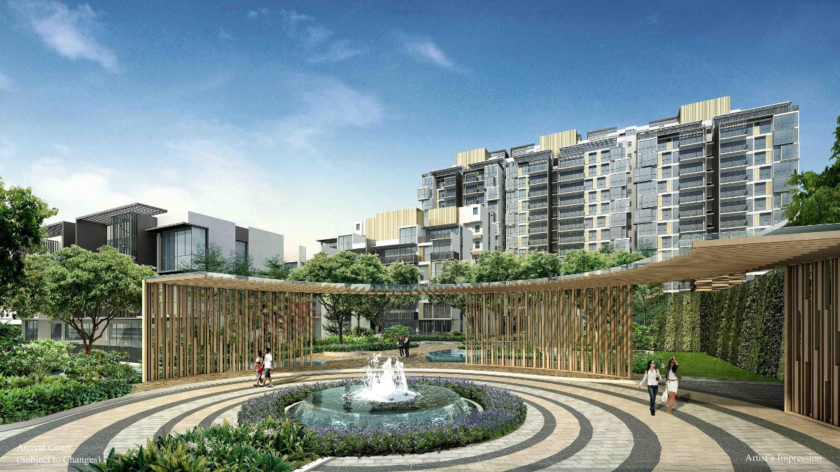 Rainforest EC by CDL & TID . Developer for the Piermont Grand EC