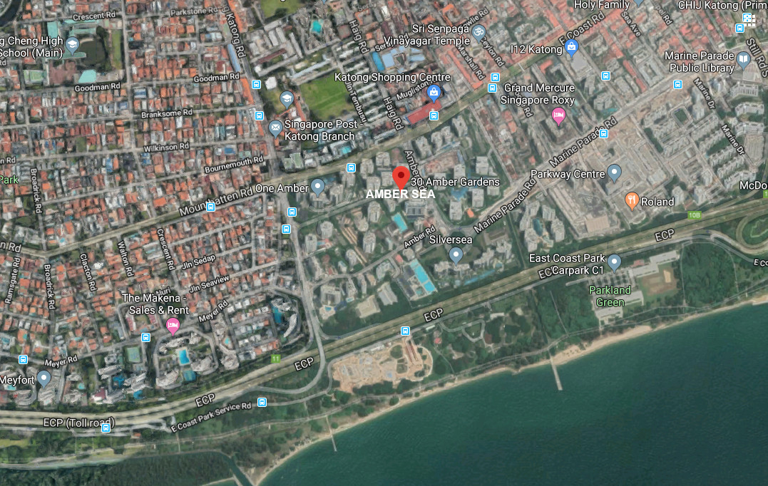Amber Sea Location . Site and Amenities