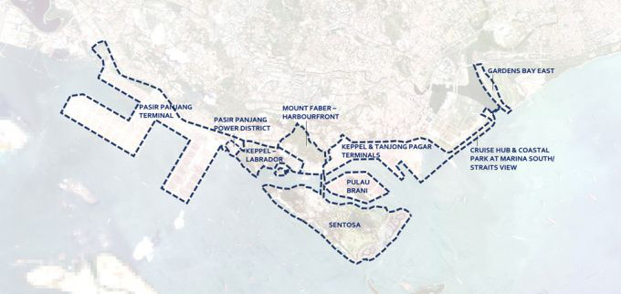 The Greater Southern Waterfront Footprint