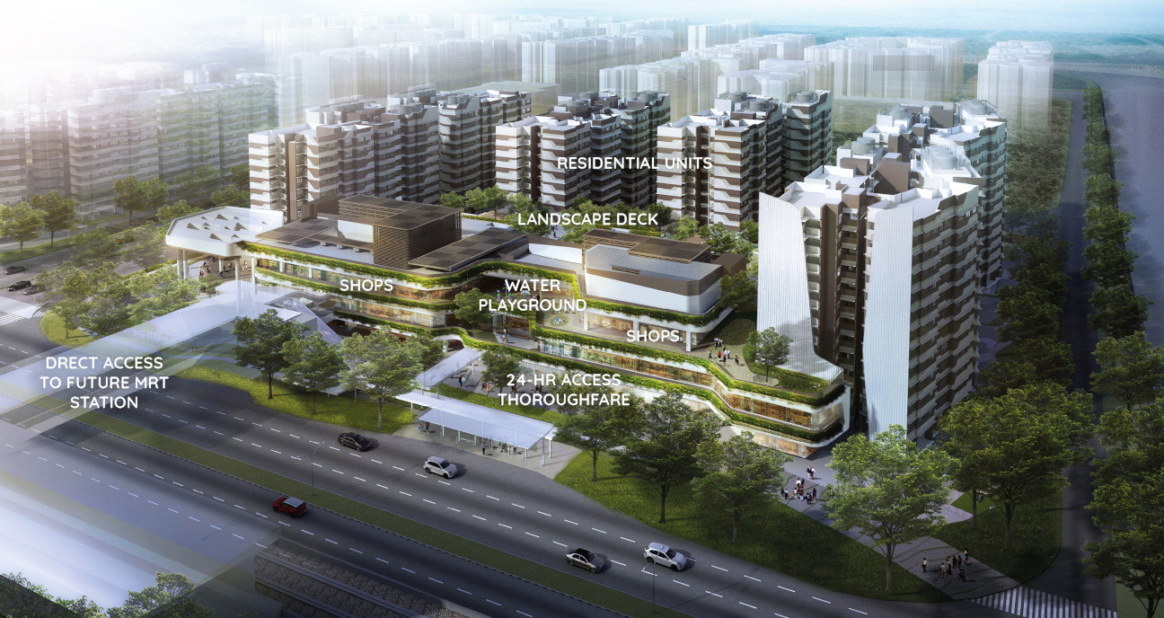 "Canberra Plaza near Provence Residence Executive Condo"" width="