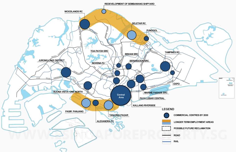 New Canberra Link EC . Economic Hubs